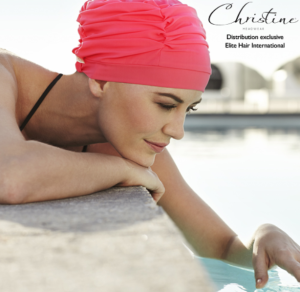 swim cap elite hair